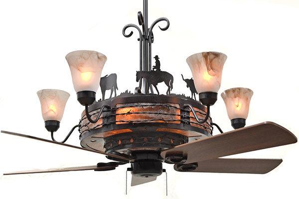 Copper Canyon Rancher Ceiling Fan Main Image