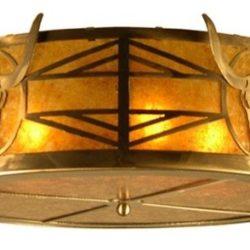 Steer Skull Flushmount Ceiling Light