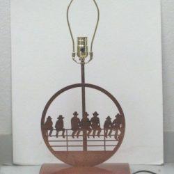 Western Bedside Lamp